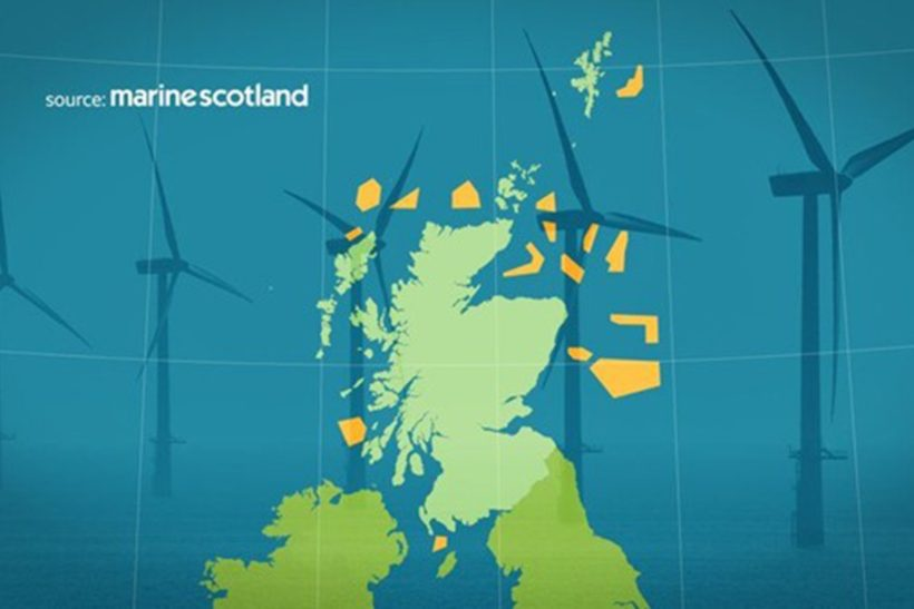 Massive wind projects planned in Scottish waters