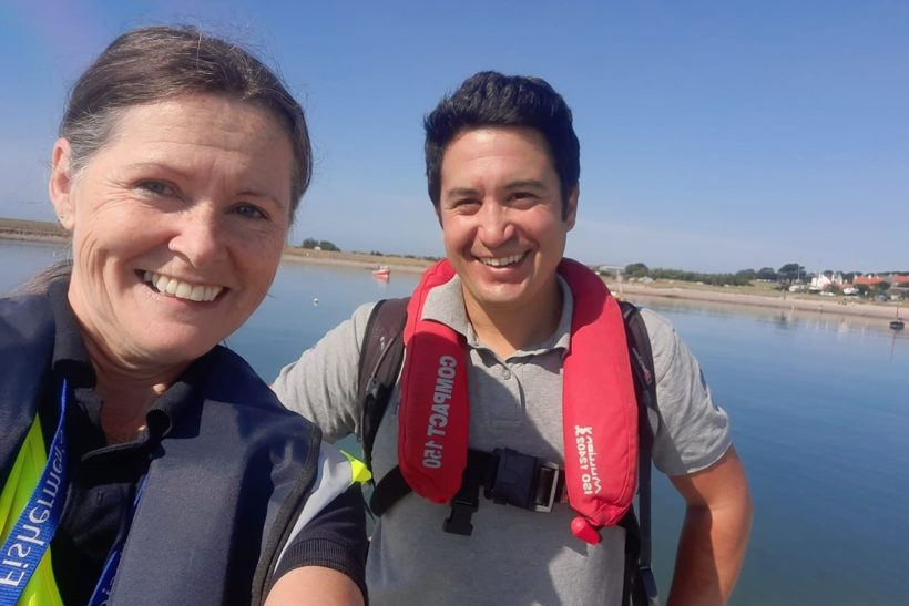 2021 Seafish fleet survey researchers' diaries: Sunny days