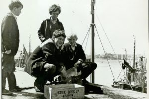 Future fishermen on North Shields quayside (Tor045). Are you among them?