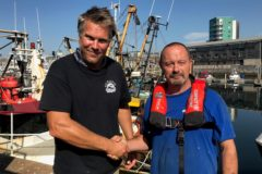 Fisherman issues PFD warning after MOB brush with death - Ben Squires and Paul Reed